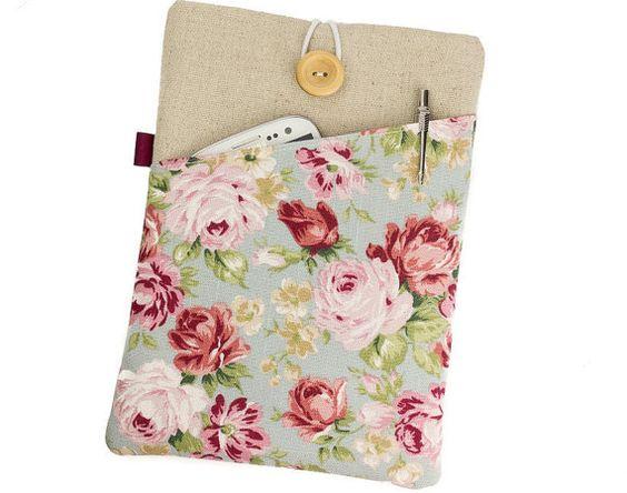"Floral MacBook case,MacBook Air cover,13"" Laptop case,Floral Lenovo sleeve,Lenovo Yoga 2 case,Surface Pro 3 case,HP Stream cover,HP 360"