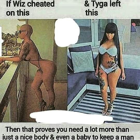 it means they need to find guys who don't cheat
