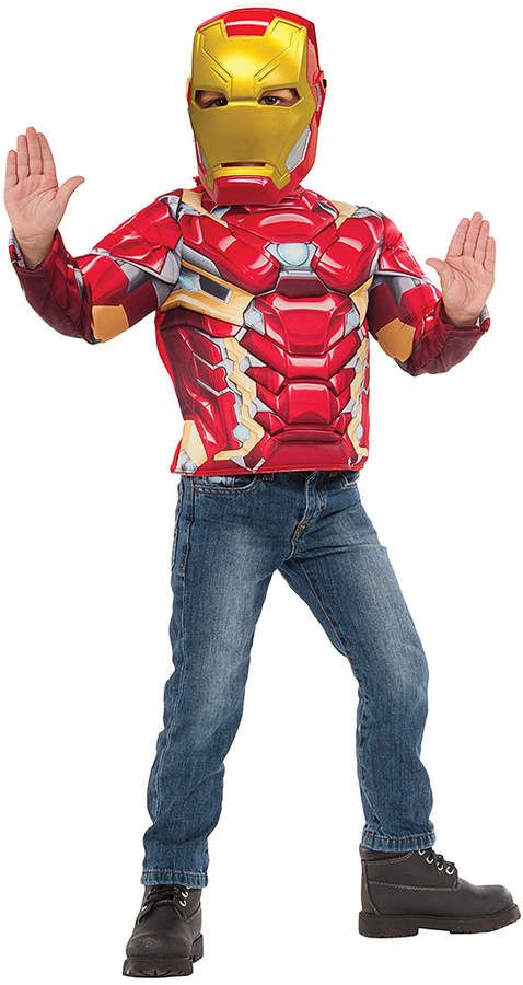 Iron Man Muscle Chest Dress Up Outfit Boys Spark Boys Imagination Dress Up Outfits Men S Muscle Iron Man