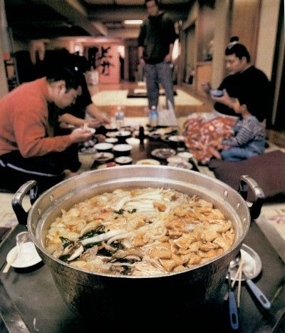Chanko Nabe, Sumo Wrestler food. The first time I tried this food was ...