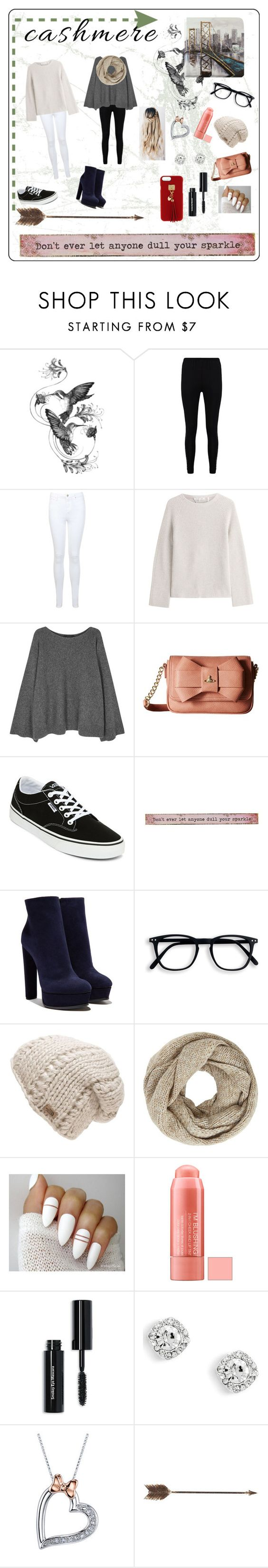 """""""Cashmere Whatever👌🏻"""" by whalestalker ❤ liked on Polyvore featuring Emily Carter, Boohoo, Miss Selfridge, Helmut Lang, The Row, Vivienne Westwood, Vans, Natural Life, Casadei and The North Face"""
