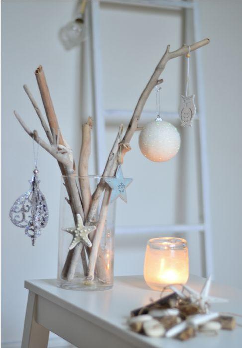 DIY : Déco de Noël esprit bord de mer, en bois flotté   DIY ...