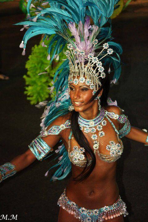 BRAZILIAN SAMBA QUEEN IN BEIRUT...