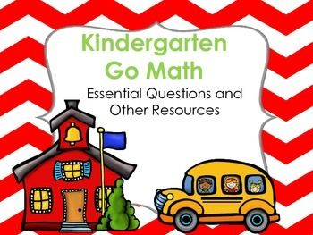 Printables Questions For Kindergarten kindergarten go math essential questions using webbs depth of knowledge for 3