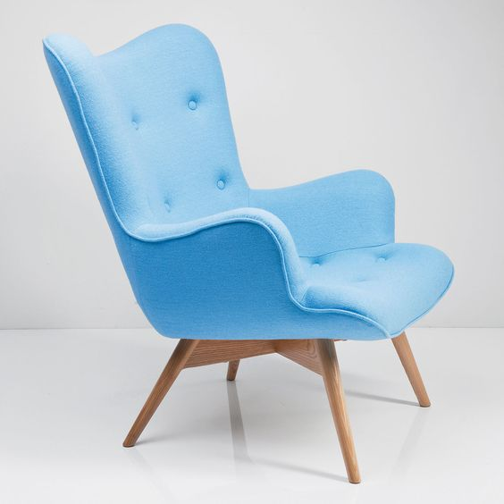 Arm Chair Angel Wings, Blue Angel Wings And Arms   Hosu Design Loungesessel  Arbeiten