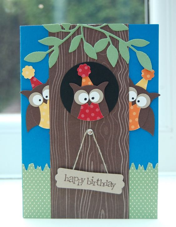 Julie's Japes - An Independent Stampin' Up! Demonstrator in the UK: Owl Punch