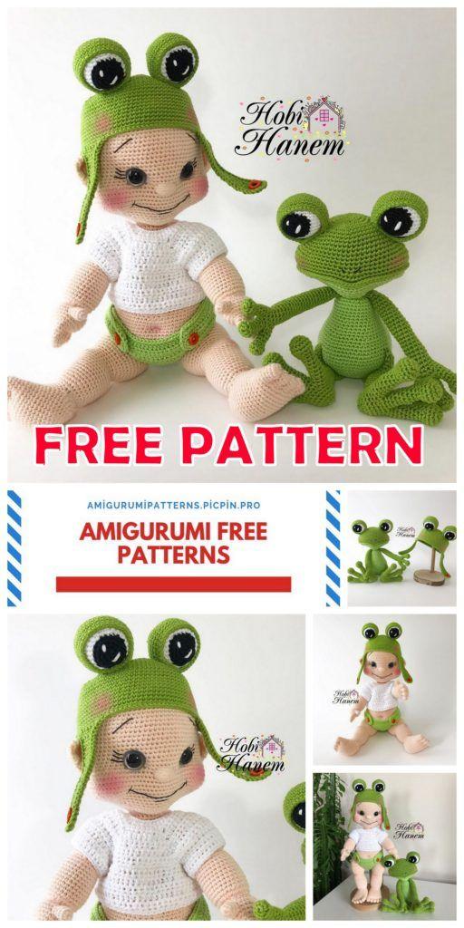 Amigurumi lalka wzór Crochet anime female dziewczyna | Etsy | 1024x512