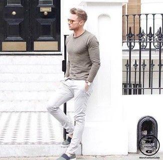 Como Combinar Un Pantalon Chino Blanco En 2018 305 Formas Moda Para Hombres Mens Style Guide Mens Outfits Stylish Men