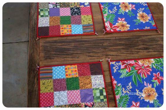 blog gosto tanto-armazem de maria- artesanatos- porta guardanapo- jogo americano