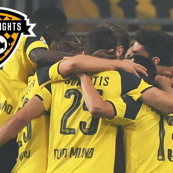 Highlights: Legia Warsaw 0-6 Borussia Dortmund
