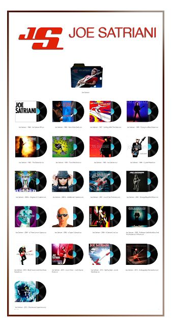 Album Art Icons: Joe Satriani