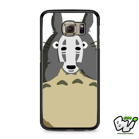 Totoro Mask Spirited Away Samsung Galaxy S6 Case