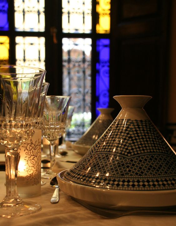 Dinner at Riad le Calife, Fes - Morocco