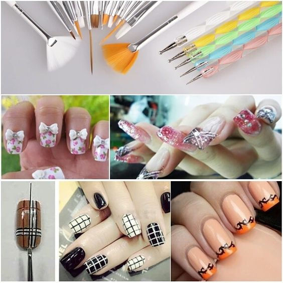 Specifics  Item Type	Nail Brush  Material	Synthetic  Size	20 pcs    Package Included:  3 x Drawing Tools  7 x Painting Tools (also can use as gel nail curing brush)  2 x Liners  1 x Dotting Tool  2 x Fan brushes for nail art effect (also can use as eye shadow brush)  5 x 2-ways Nail Art Tool Dotting Pen | Shop this product here: http://spreesy.com/shopforgoodies/590 | Shop all of our products at http://spreesy.com/shopforgoodies    | Pinterest selling powered by Spreesy.com