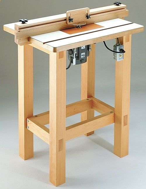 Router table plan build your own router table diy for for Home built router