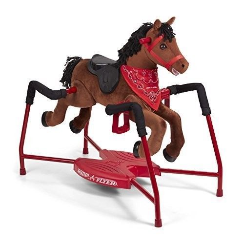 Spring Rocking Horse Ride On Toy Bouncing Riding Child Girls Boys Kids Gift Idea Radioflyer Radio Flyer Ride On Toys Chestnut Horse