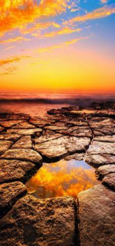 The Eye of Mordor - Sunset, Tide Pool at Azure Vista, San Diego, California | by Sairam Sundaresan