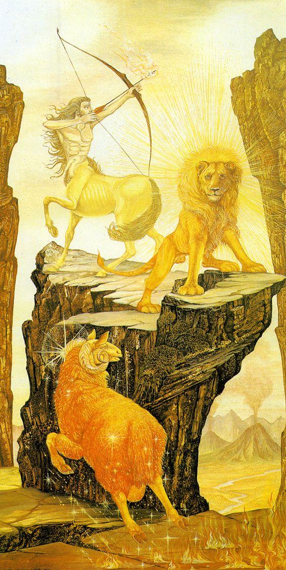 Feu : Bélier - Lion - Sagittaire