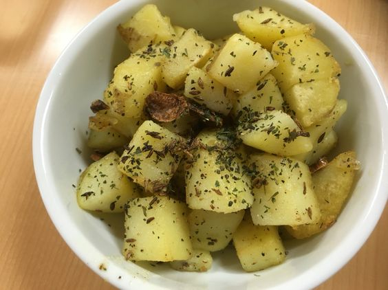 #potato #cumin #oliveoil #garlic #herbs