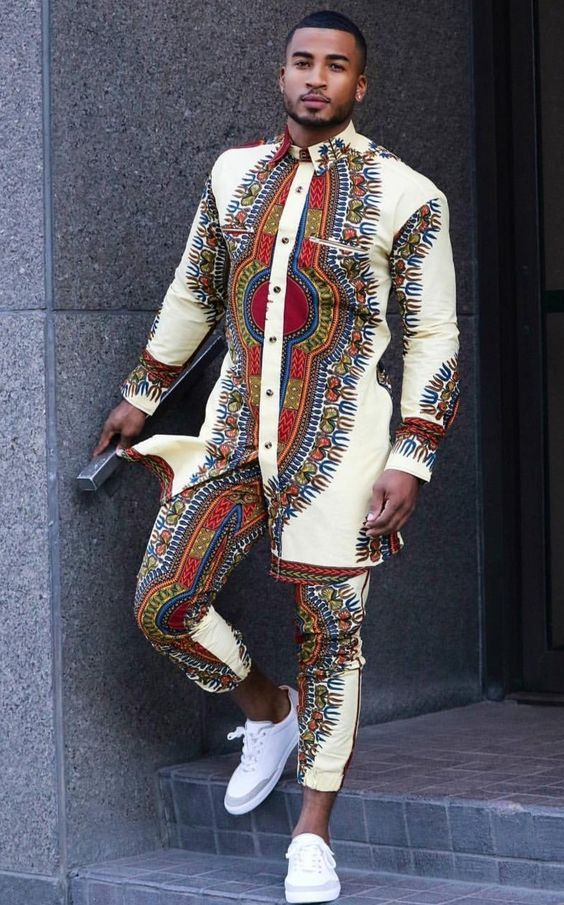 Coolest Ankara Styles For Men To Spice Up 2018 African Clothing For Men Nigerian Men Fashion African Shirts
