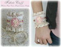 Fabric Cuff- Gabrielle Pollacco