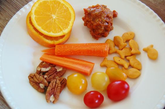 a simple idea plate for a healthy diet for lunch