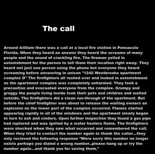 Creepypasta picture-story #7: The Call - Horror/creepy short stories