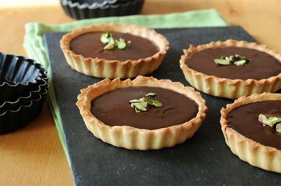 RECIPAY.COM - Tartelettes au chocolat