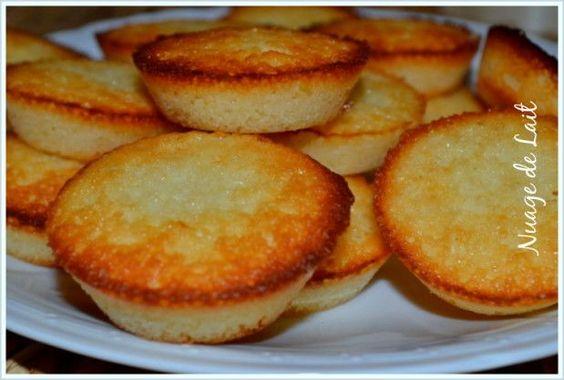 Petites Bouchées au Citron pour écouler des blancs d'oeufs