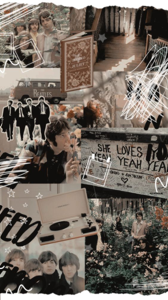 Allscalliepsds Two For Queen S Fans And Two For Beatles In 2020 Beatles Wallpaper The Beatles Aesthetic Collage