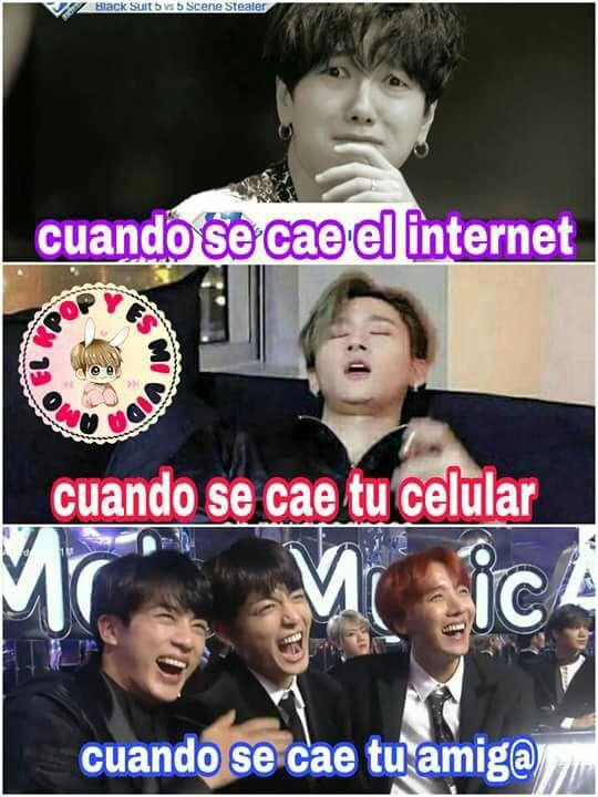 Jajajajajaja Si Bts Memes Caras Bts Memes Memes Coreanos