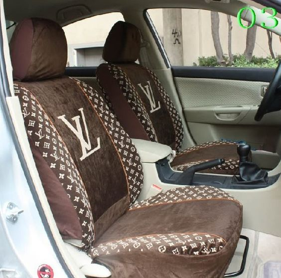 LOUIS VUITTON CAR SEAT COVER LIMITED LOVE IT