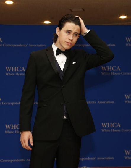 Videographer Nash Grier arrives for the annual  White House Correspondents' Association Dinner in Washington April 25, 2015. (Photo: Jonathan Ernst/Reuters)