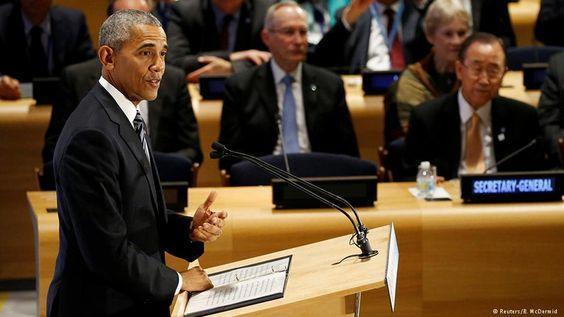 Auf dem Flüchtlingsgipfel in New York fand der US-Präsident anerkennende Worte…