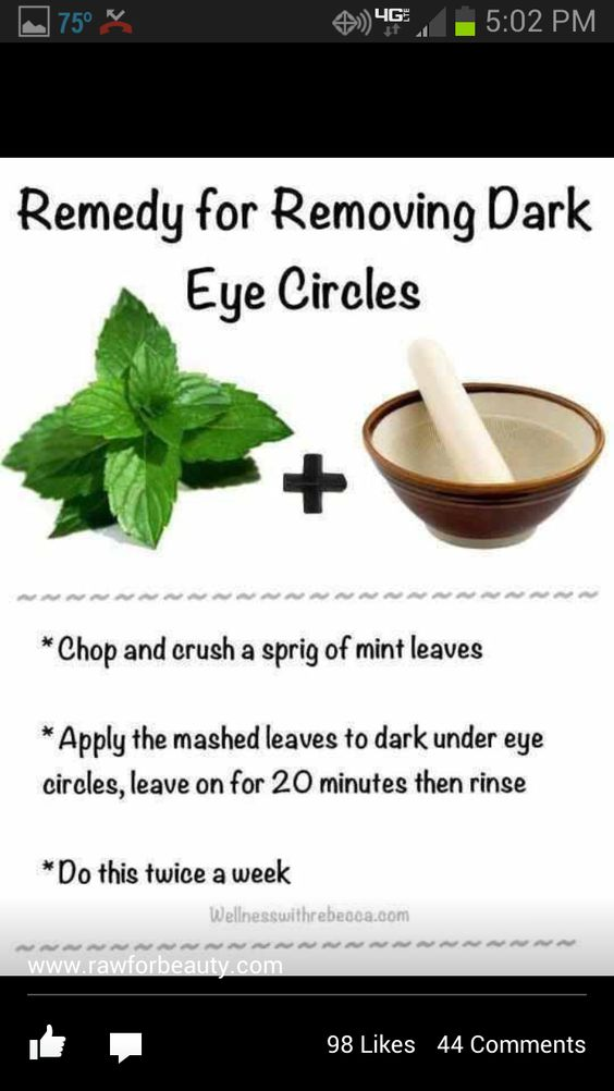 How to get rid, How to get and Dark circle remedies on Pinterest View ...