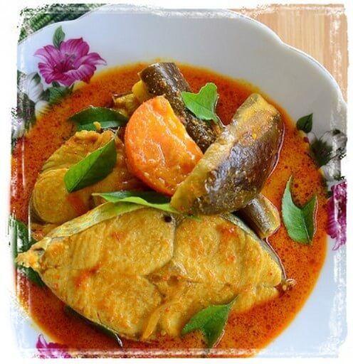 Resepi Ikan Tenggiri Masak Kari Sedap Cooking Recipes