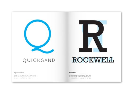 An A to Z of Typography by Felix Ng, via Behance