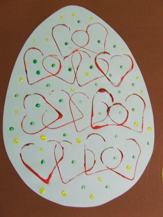 húsvéti dekoráció gyerekekkel