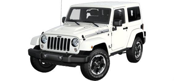 jeep build price wrangler polar edition 4x4 white exterior and black interior engine runs. Black Bedroom Furniture Sets. Home Design Ideas
