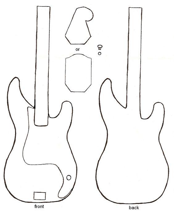 Dibujo de guitarra