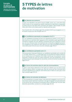 Exemples De Lettres De Motivation Lettre De Motivation Exemple De Lettre Modele Lettre De Motivation