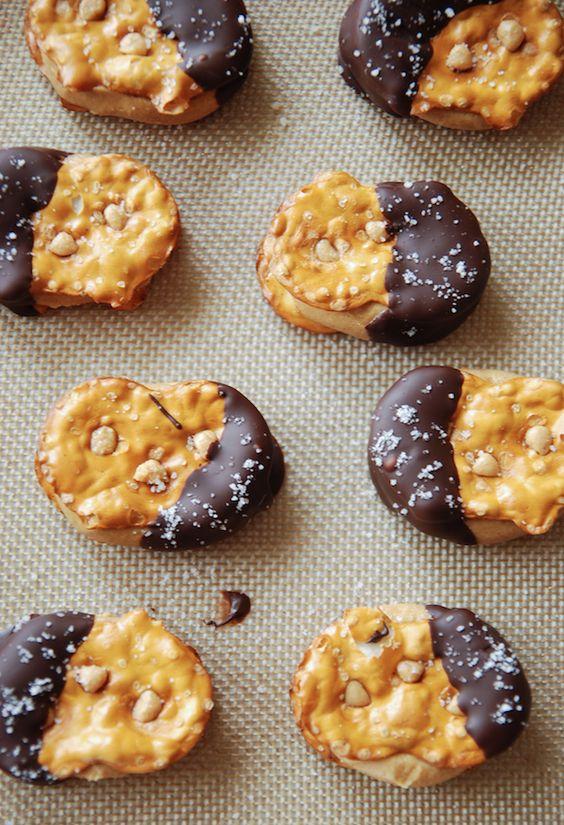 Chocolate Peanut Butter Pretzel Bites: Genius creation from a few easy ingredients