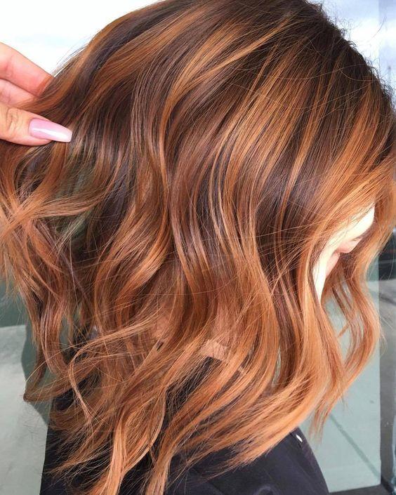 "American Salon on Instagram: ""🍓 maple streams   @texasbalayage • • • #hairgoals #hairdressermagic #salonlife #hairtends #hairdresser #haireducation #hairoftheday…"" #highlightsbrownhair"