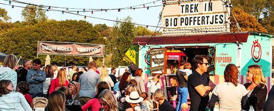 Food Truck Festival TREK - Den Bosch. Het Paleiskwartier in Den Bosch wordt van vrijdag 10 tot zondag 12 juli omgedoopt tot een groot openluchtrestaurant met tientallen mobiele keukens. Voor het eerst komt het bekende food-festival naar bourgondisch Den Bosch. Het festival draait om eten, drinken, live muziek, theater en kleinkunst. Naast Den Bosch gaat het reizende festival ook naar Rotterdam, Utrecht, Maastricht, Nijmegen en Rotterdam.