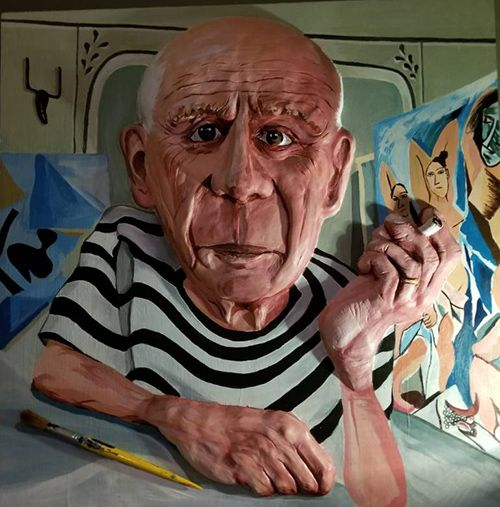 Pablo Picasso Para Ninos Biografia Y Obra Picasso Retratos