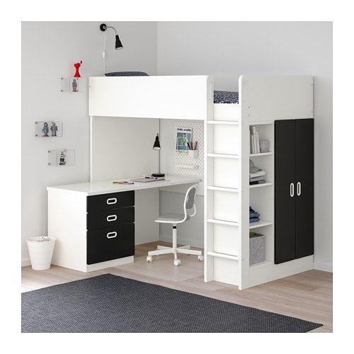 Hochbett Mit Schreibtisch Und Schrank Ikea