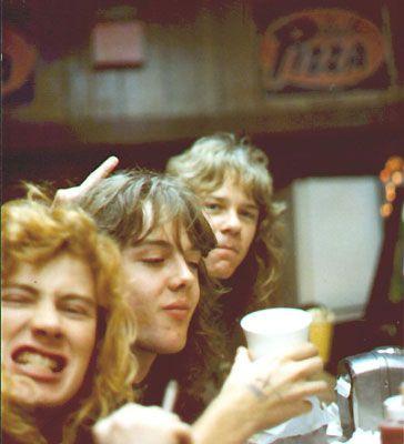 Dave Mustaine, Lars Ulrich & James Hetfield