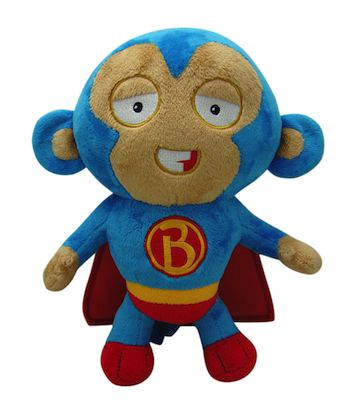 "Ntensify - Super Monkey 8"" Limited Edition Plush, $19.99 (http://www.ntensify.com/bloons/super-monkey-8-limited-edition-plush/)"