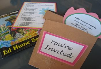 garden-party invitation and ideas