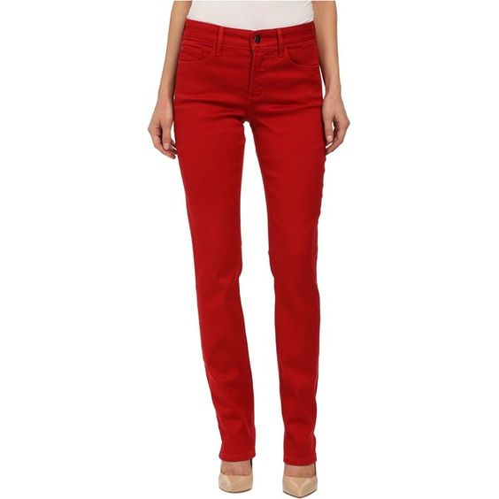 NYDJ Samantha Slim Sculpting Stretch (Cardinal Red 2) ($36 ...